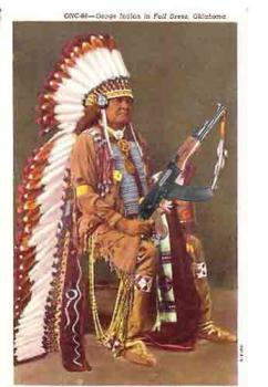 Indian with an AK