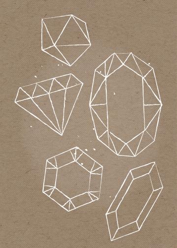 art prints - precieux by Marabou Design