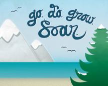 Go. Do. Grow. Soar. by Jayme Sloan Hennel