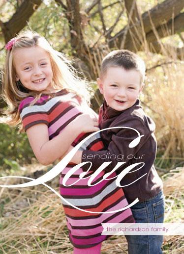 valentine's cards - Sending Our Love by Sara Batman