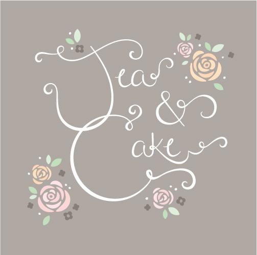 art prints - Tea & Cake by Richelle Lynn Garn