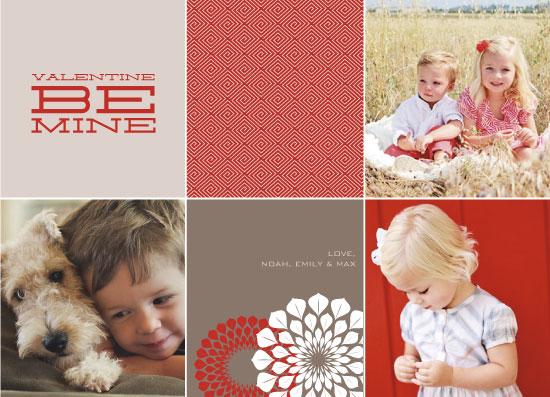 valentine's cards - Valentine Be Mine by Sara Batman