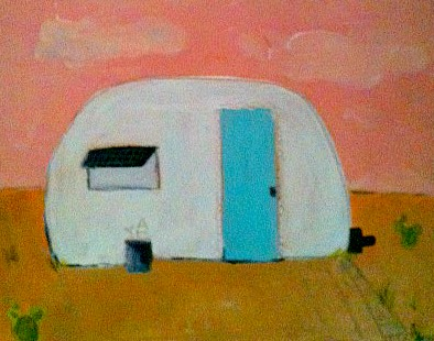 art prints - camp out by Demi and Olive
