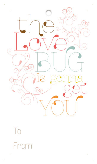valentine's cards - Love Bug by Sara Batman