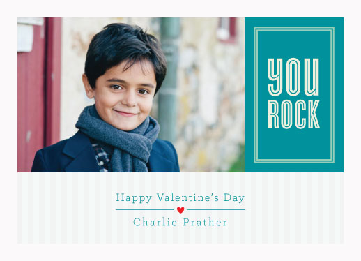 valentine's cards - You Rock
