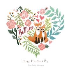 Red Fox Valentine