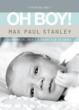 Oh Boy stripes by Sooki Carrano