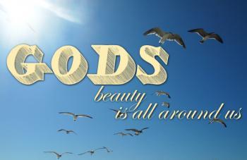 Gods Beauty Art Prints