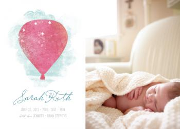 fly away Birth Announcements