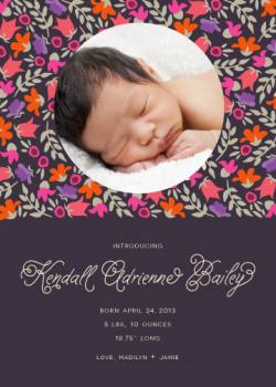 Enchanted Birth Announcements