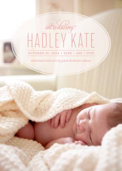 Adored Birth Announcements