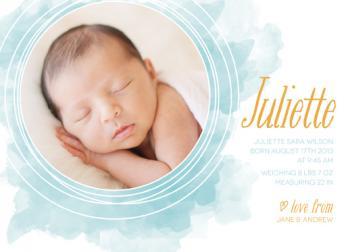 Dreamy Birth Announcements