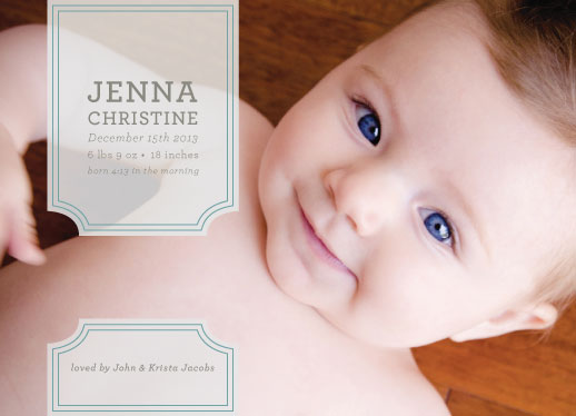 birth announcements - Banner Baby