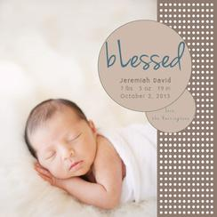 Blessed Birth Announcements