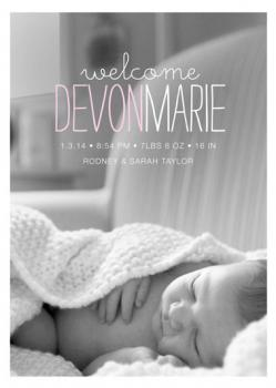 devon Birth Announcements