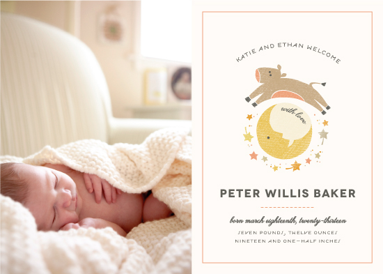 birth announcements - From the Nursery by Kimberly Morgan