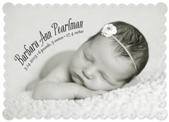 Barbara Ann Birth Announcements