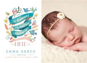 The Birds and the Bees Birth Announcements