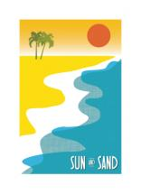 Sun and Sand by Laura Mitzelfelt