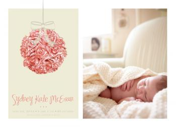 Ball of Love Birth Announcements