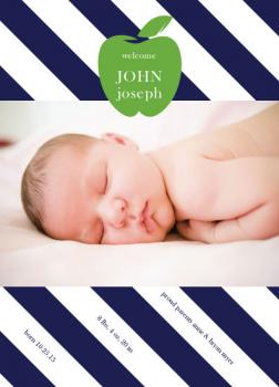 Apple of Our Eye Birth Announcements