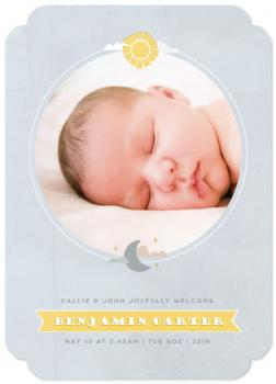 Our Sun and Moon Birth Announcements