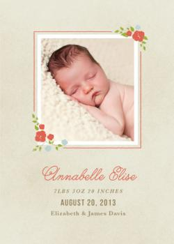 Annabelle Birth Announcements