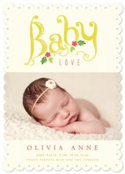 Rosealie Birth Announcements