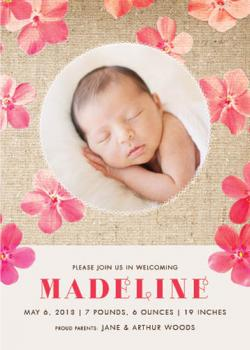 Petal Power Birth Announcements