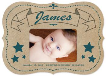 Superstar Baby Art Prints  Birth Announcements