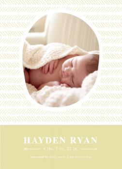 Sweet Little Baby Birth Announcements