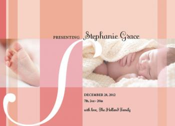 Sweet Petite Birth Announcements