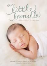 Little Bundle Birth Ann... by Paper Lovely