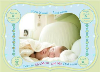 A Young Star Birth Announcements