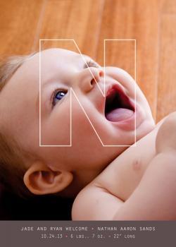 Junior Architect Birth Announcements