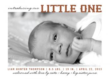 little one Birth Announcements