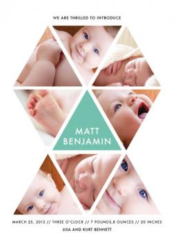 triangles Birth Announcements
