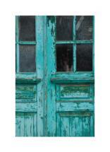 Weathered door by Laura Mitzelfelt
