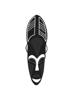 African Mask 2 Art Prints