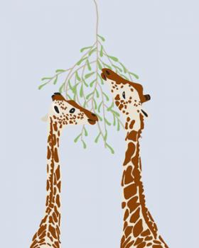 Giraffes Art Prints