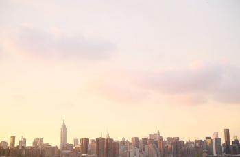 Manhattan Summer Sunset.