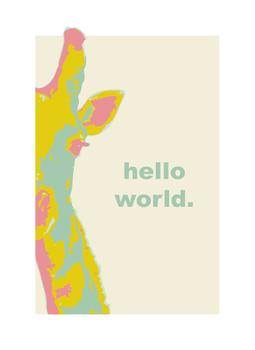 Hello World Art Prints