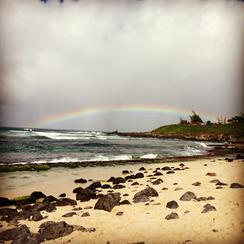 Maui Rainbow Art Prints