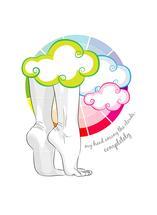 Among the clouds by Selena Squarzanti