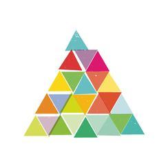 Pyramid Pile Art Prints