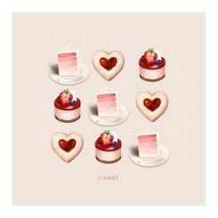 Sweets for the Heart Art Prints