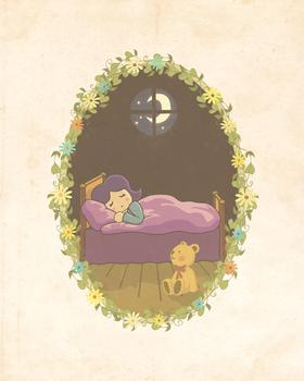 Juja sleeping Art Prints