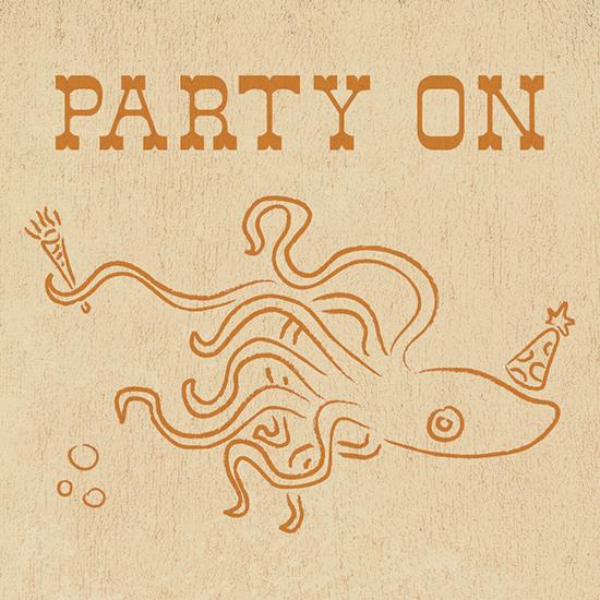 art prints - Squid Ink by Alex Elko Design