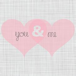 You & Me Art Prints