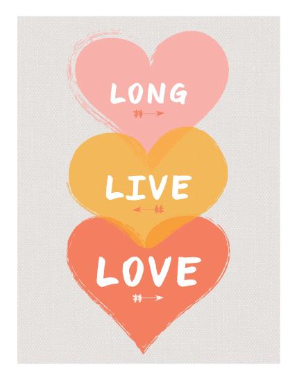 art prints - Long Live Love by Morgana Lamson
